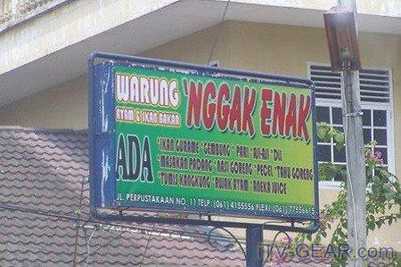 Kwikku, Jangan makan di sini nggak enak