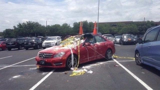 Kwikku, Parkir sembarangan sih Akhirnya ini yang warga sekitar lakukan