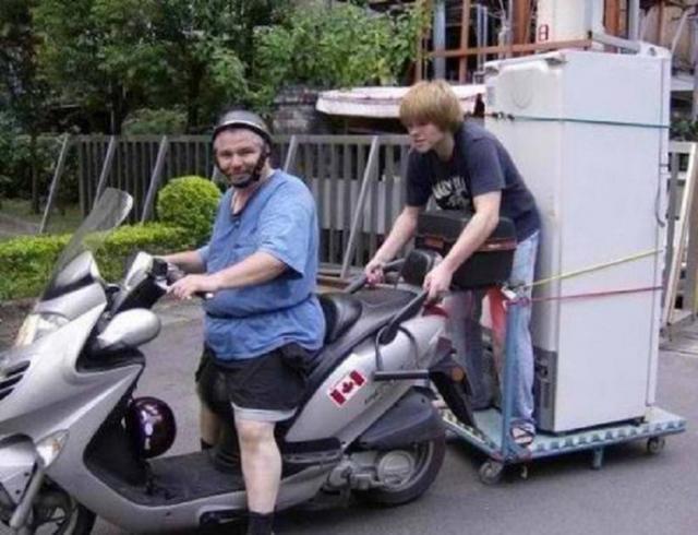 Kwikku, Keliling kota bersama teman dan kulkas