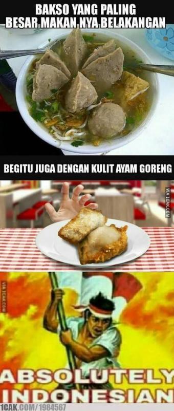 Kwikku, Kebiasaan orang indonesia banget nih