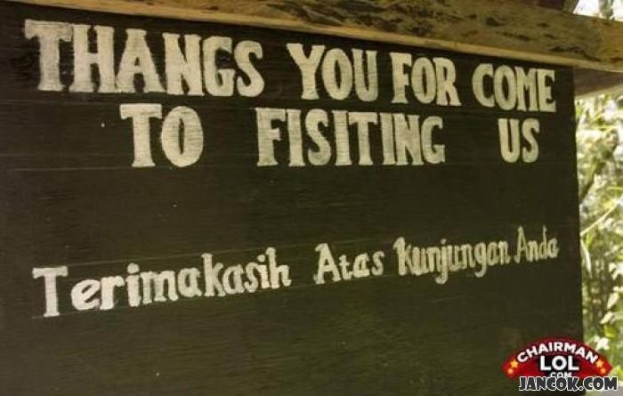 Kwikku, Tetapi ketika kita mencoba untuk berbicara dengan bahasa inggris toh kita malah di sebut soksok berbahasa inggris