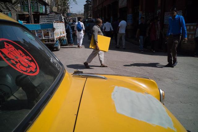 Kwikku, Bagian cat kuning yang hilang ternyata ada sama om di depan