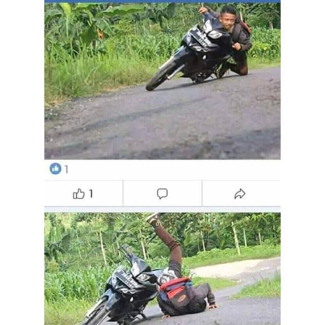 Kwikku, Mau jadi pembalap super tetapi akhirnya kandas juga di tengah jalan