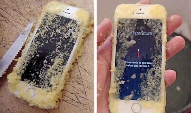 Kwikku, Tercelup teraduk dan terpanggang Wkwkwkwk Kasian iPhonenya