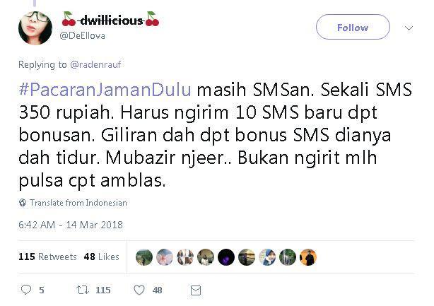Kwikku, SMS
