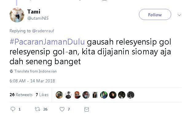 Kwikku, Jajanan