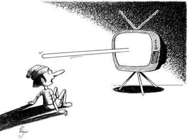 Kwikku, Setiap apa yang di berikan televisi maupun media sudah nggak bisa di percaya lagi segala sesuatunya penuh dengan kebohongan