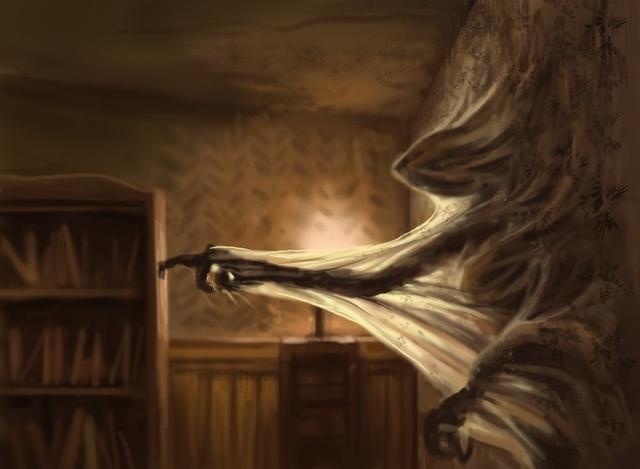 Kwikku, Rasa takut bisa muncul dari mana saja bahkan dari tembok sekalipun