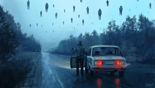 Kwikku, Apakah kalian pernah merasa seperti di hujani oleh rasa takut