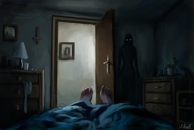 Kwikku, Sosok mengerikan di pojokan kamar yang gelap