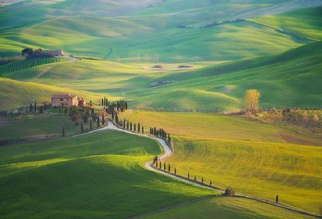 Kwikku, Salah satu pemandangan desa di Italia