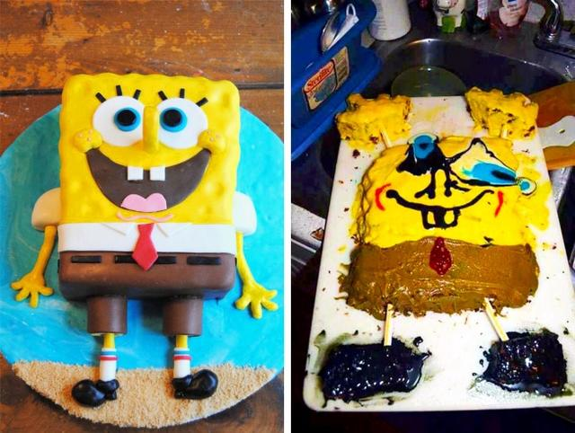 Kwikku, Kasian spongebobnya babak belur tuh Nanti temantemannya jadi gak kenal