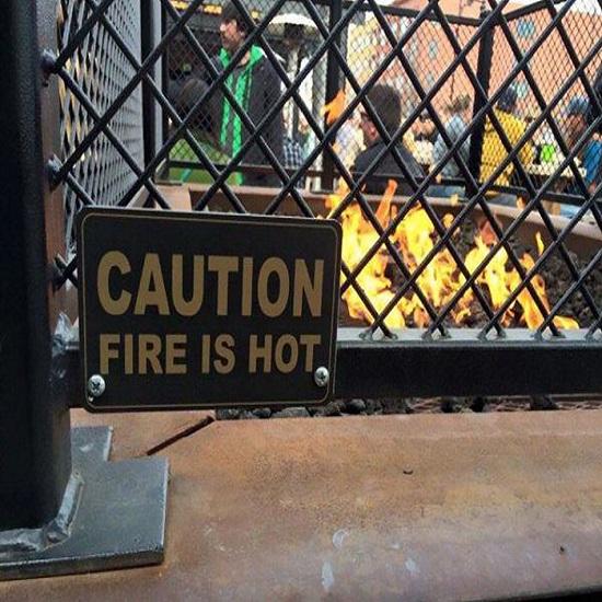 Kwikku, Gak diperingatin juga bayi dan orang gila saja tau kalau api tuh panas Buat apa sih