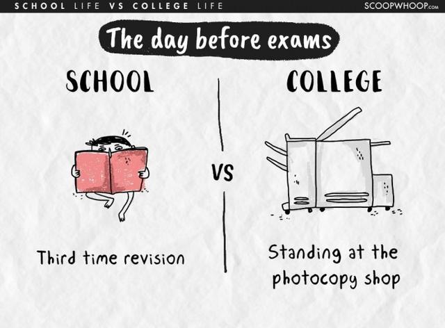 Kwikku, Hari sebelum ujian anak kuliahan bakal sibuk stay di mesin fotocopy kalo anak sekolahan banyak di hafalan wkwkwkwk