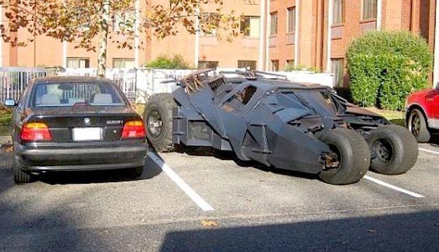 Kwikku, Betmen parkir sembarangan nih