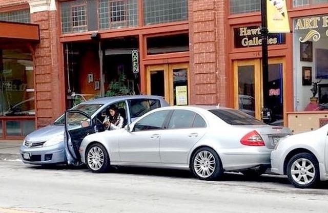 Kwikku, Parkir sembarangan yang berujung bencana wkwkwk