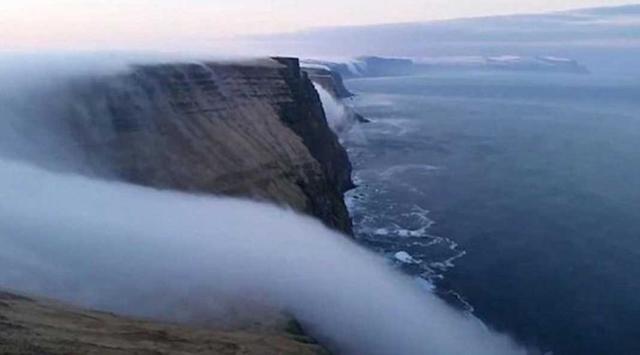 Kwikku, Air Terjun Kabut Di Islandia