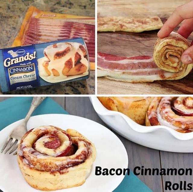 Kwikku, Bacon Cinnamon Rolls