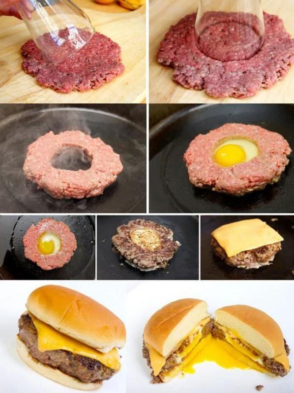 Kwikku, Cheese Burger with Egg