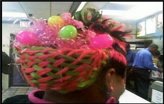 Kwikku, Rambutnya multifungsi banget bisa buat jadi keranjang