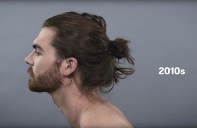 Kwikku, an gaya rambut bun dan jenggot