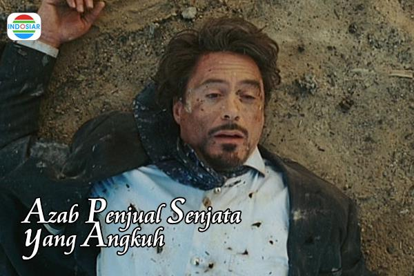 Kwikku, Ternyata Tony Stark di juluki sebagai sang penjual senjata yang angkuh di film ala indosiar yang satu ini nih guys Kasian banget sampe di azab kayak gitu