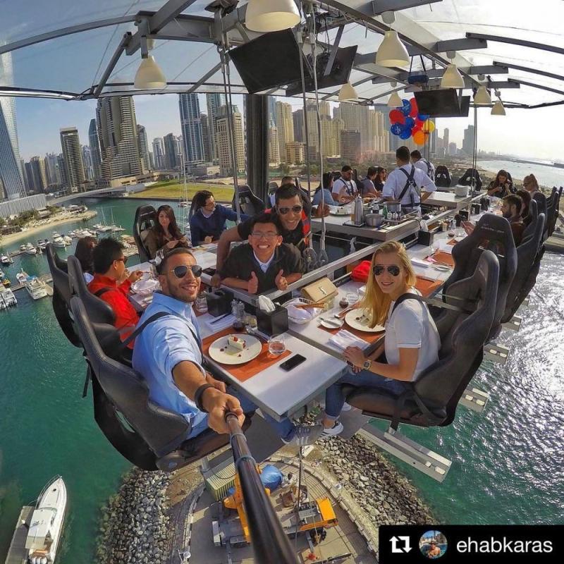 Kwikku, Dinner In The Sky Dubai