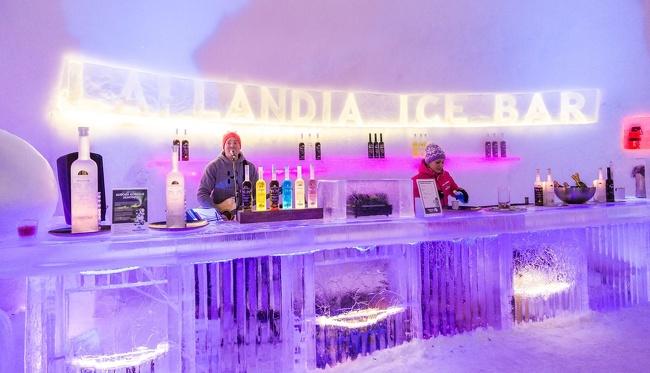 Kwikku, Ice Restaurant Finlandia