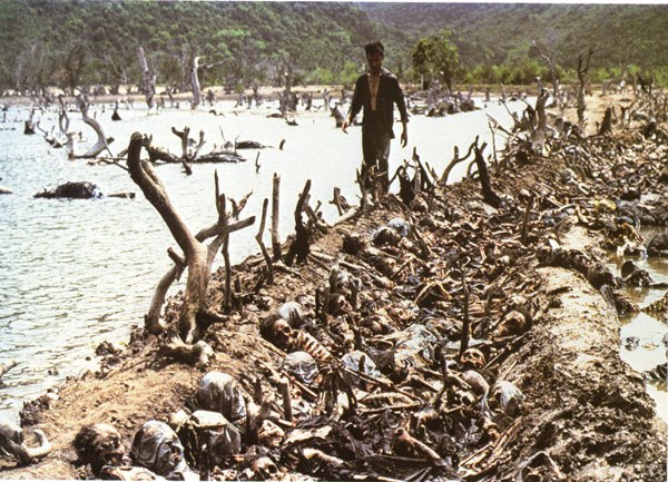 Kwikku, Ladang pembantaian di Kamboja