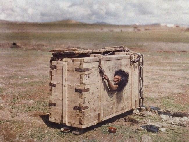 Kwikku, Hukuman di Mongolia abad an awal