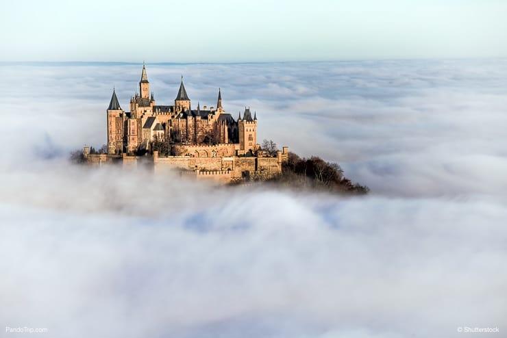 Kwikku, Bagaikan mengapung di atas awan Kastil Hohenzollern Jerman