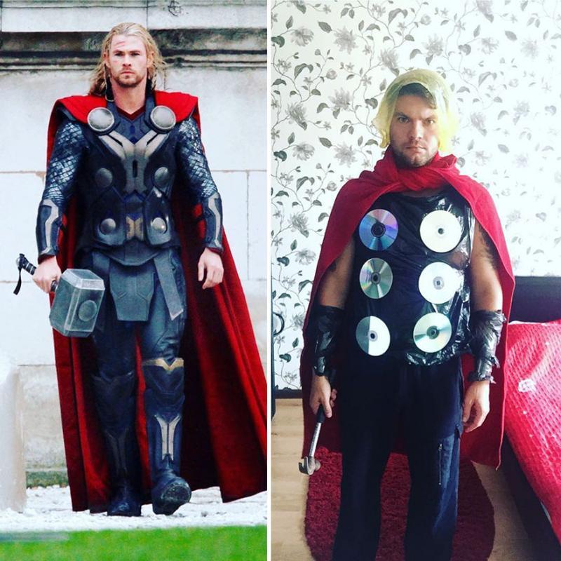 Kwikku, Ingin menjadi Thor itu gak perlu pake duit banyak