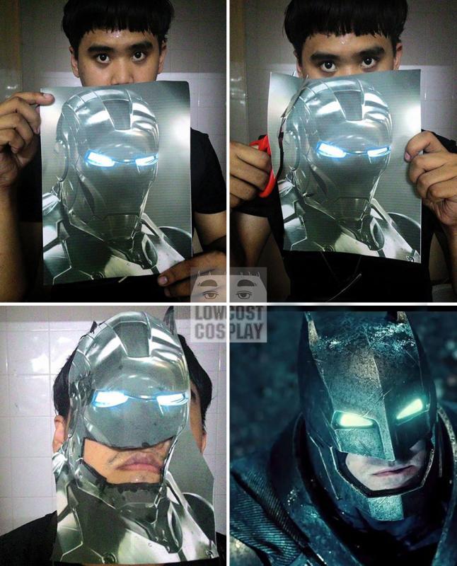 Kwikku, Pake topeng Ironman supaya bisa kaya Batman
