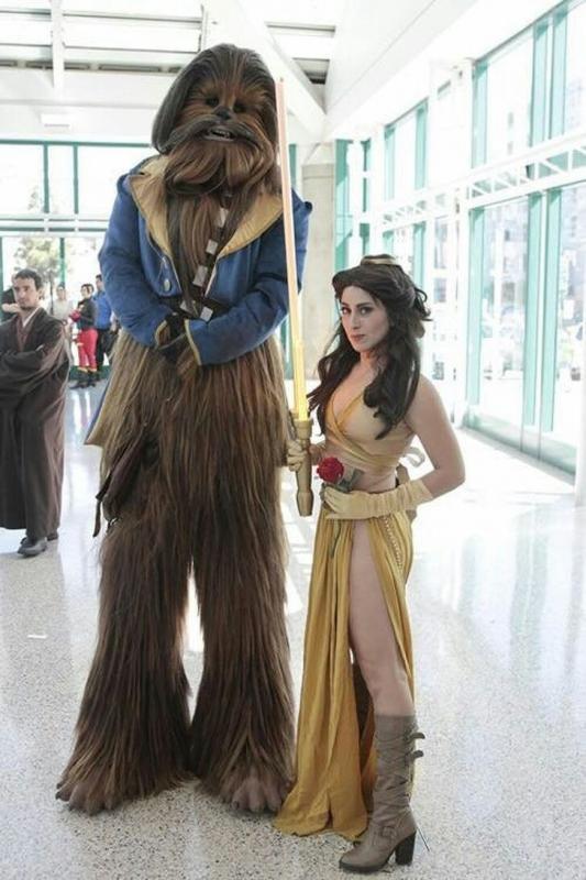 Kwikku, Lebih cocok di panggil Beuty and The Beast dari pada Star Wars nih