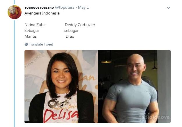 Kwikku, Deddy sama Nirina juga masuk kedalam daftar cocoklogi Mereka cocok kan