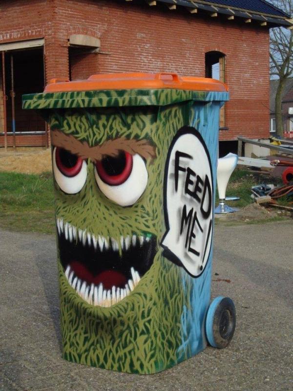 Kwikku, Unik ya guys kayaknya semua orang jadi bakal betah untuk buang sampah pada tempatnya kalau tempat sampahnya bisa sampai seunik ini