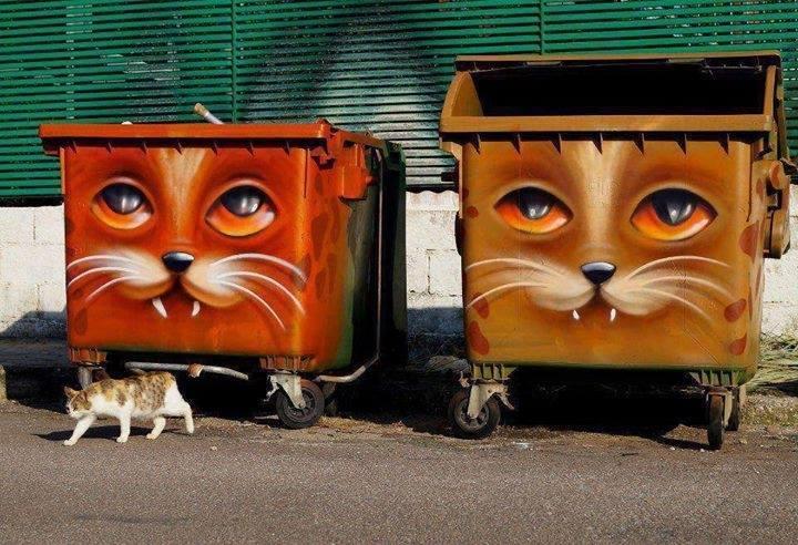 Kwikku, Kini kucing punya teman yang bekerja untuk menampung makanan mereka tuh