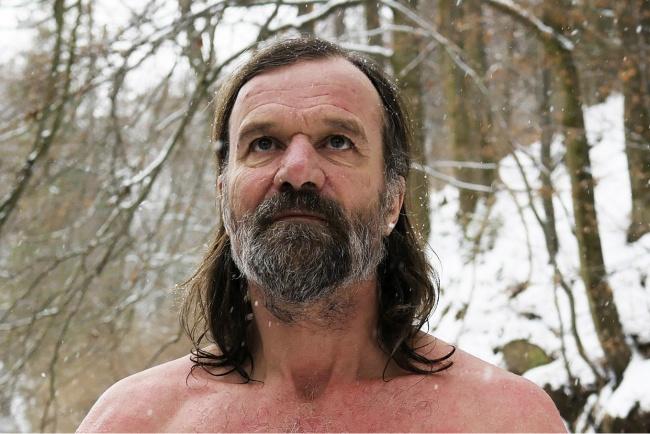 Kwikku, Pria tanpa rasa dingin Wim Hof