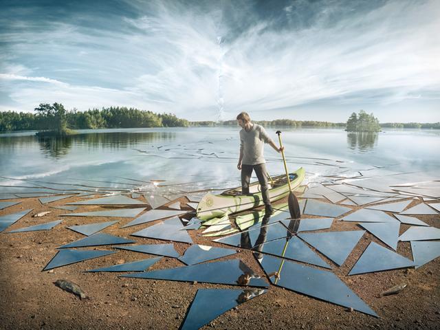 Kwikku, Menembus batasan imaginer Keren banget Jangan salah gambar ini di ambil dari danau asli loh