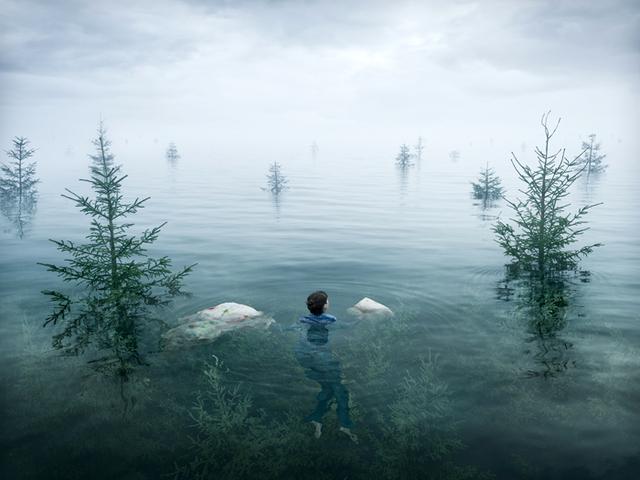 Kwikku, Berenang di hutan yang tenggelam Nuansanya magis banget guys serasa ada di dunia fantasi ketika melihatnya
