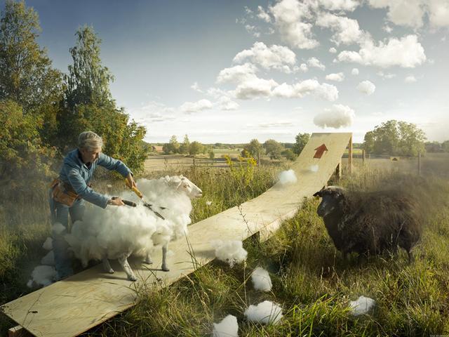 Kwikku, Ternyata sesungguhnya awan itu terbuat dari bulu domba Jika benar ini sungguh mempesona dan tiada duanya