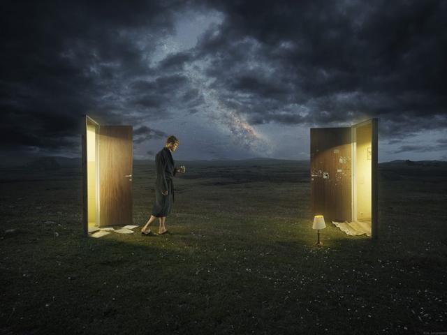 Kwikku, Kedua ruangan yang terhubung dengan alam Sebelum kalian bisa memasuki ruangan lain kalian akan terhubung dulu di dimensi alam lain