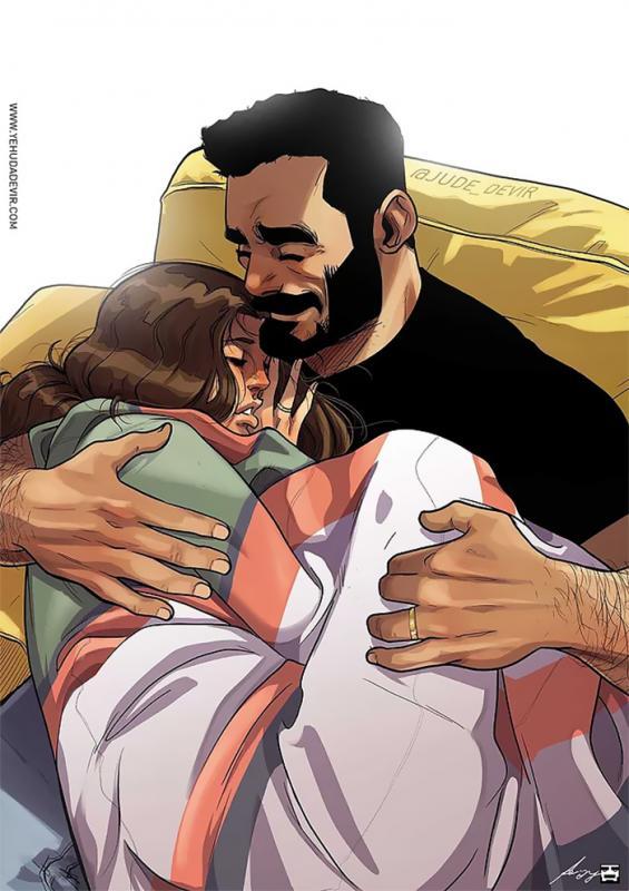 Kwikku, Segarang apapun suamimu dia pasti akan menjagamu ketika kamu sakit