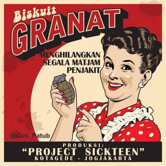 Kwikku, Kok namanya biskuit granat yah Apa kalau dimakan bisa meledak