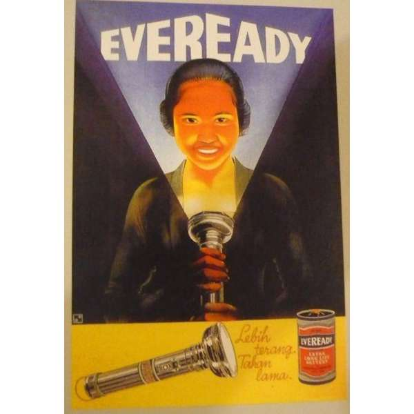 Kwikku, Iklan ini kalau dilihat sekilas seperti pamflet buat film horror Tapi ternyata ini iklan baterai loh Hahaha