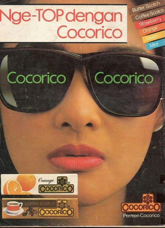 Kwikku, Coba tebak ini iklan apa Pasti kamu mengira ini iklan kacamata kan Bukan ini iklan permen cocorico Haha Gak nyambung ikonnya