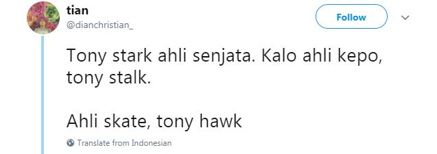 Kwikku, Mungkinkah Tony Stark melakukan kegiatan seperti ini di dunia nyata