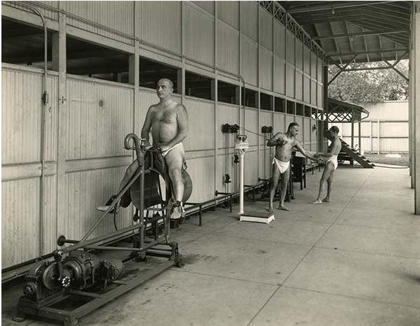 Kwikku, Nih alat terapi fitnes jaman dulu Modelnya lebih sedikit dari pada sekarang yang sudah beragam