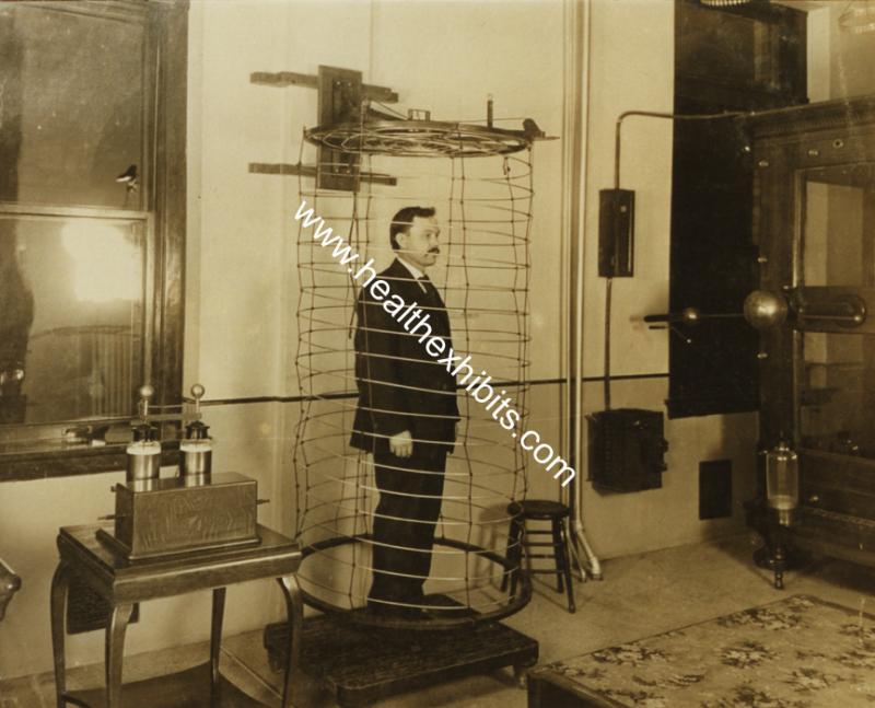 Kwikku, Terkesan seperti penjara alat ini merupakan alat terapi elektro pada zamannya