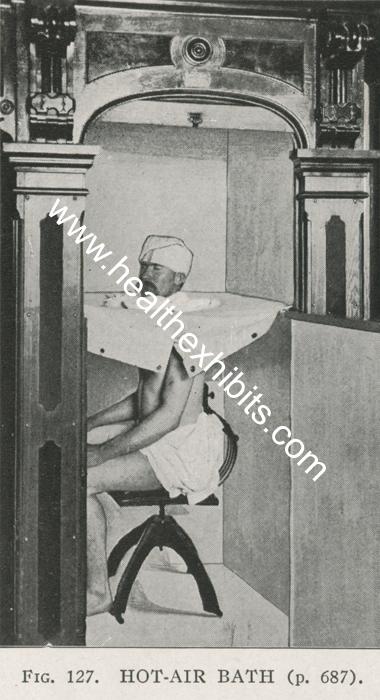 Kwikku, Memiliki fungsi seperti sauna pasien bisa mandi keringat ketika menggunakan alat ini